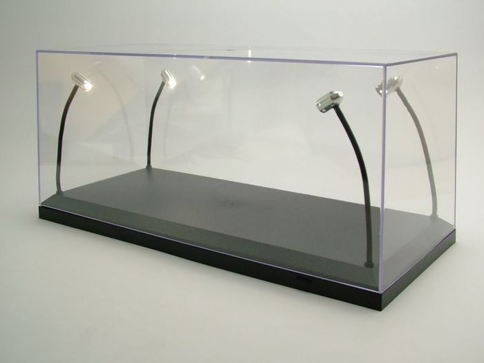 vitrine met 4 x led led verlichting 118